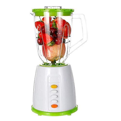 2 In 1 Jug Blender glazen kan Multifunctionele Nutrition Machine Ice-Crusher Food-processor for Smoothies Juices Noten En Boter ZHW345