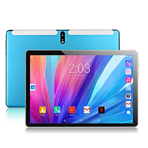 BlueBose Tablet Android 10.0 da 10.1 pollici, 2 GB di RAM, 32 GB di ROM, processore Octa-core, display IPS HD 800 * 1280, doppio slot per schede SIM, supporto Bluetooth, WIFI