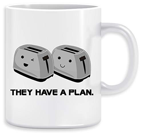 Toaster Kaffeebecher Becher Tassen Ceramic Mug Cup