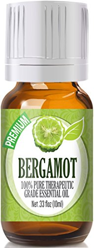 Bergamot Essential Oil - 100% Pure Therapeutic Grade Bergamot Oil -...