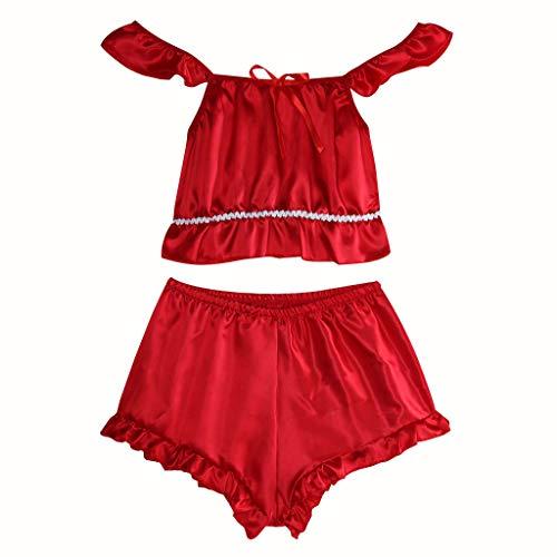 Babydolls Einfarbig Ultra Kurz Damendessous Damen Große Größenouvert Neckholder Schöne BHS Durchsichtiger Elegant Reizwäsche Spaghetti TräGer Sleepwear Dessous Mode Frauen