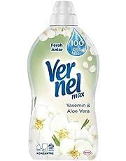 Vernel Max Yas ve AloeVera Konsantre Çamaşır Yumuşatıcısı, 1,44 L