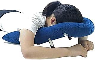 Cara abajo almohada después de la cirugía ocular, duradero suave diseño ergonómico cabeza de apoyo al hombro retina mentira cabeza de almohada después de la cirugía ocular cara abajo almohada para la