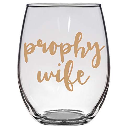 Prophy Wife Wine Glass, Dental Hygienist Gift, Dentist, Funny Wine Glass