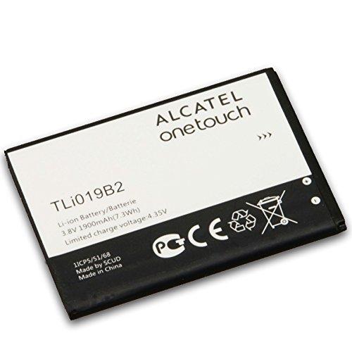 Glitzy Gizmos® Original Alcatel Akku tli019b21900mAh 7,3WH 3,8V für One Touch Pop C7ot7041d (keine Einzelhandelsverpackung)
