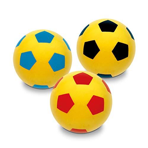 Mondo Toys - Pallone di spugna per bambini - palla morbida per giocare in casa - 07851