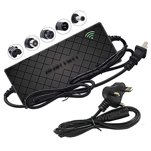 QFNB Cargador de batería de Litio de 67,2 V 2 A para Scooter eléctrico Inteligente de la Serie 13 de 60 V, Adaptador de Corriente Universal de Iones de Litio para monopatín de Monociclo de e