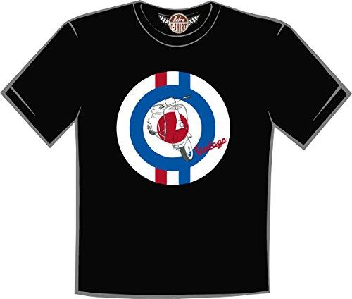 Retro t-shirt Camiseta Vespa Vintage (L)