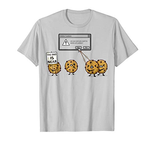 Shirt.Woot: Delete Cookies T-Shirt