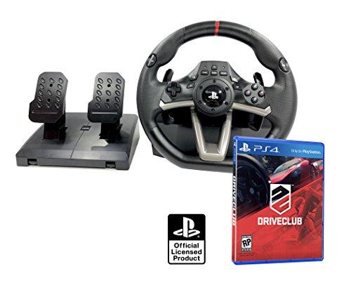 Volant et pédales PS4 Originale sous Licence Playstation 4 RWA Apex + Driveclub