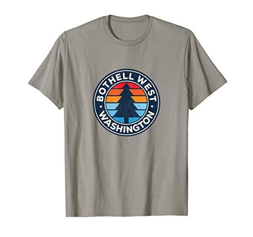 Bremerton Washington WA Vintage Graphic Retro 70s T-Shirt
