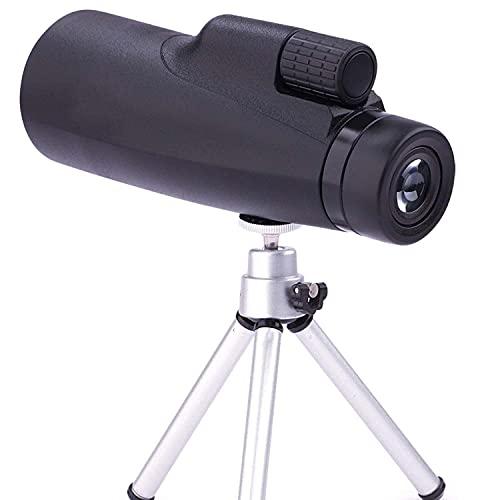 ROM Monoculares 12x50 HD Óptica de visión Nocturna Monoculares Telescopio al Aire Libre Impermeable Espejo de observación de Aves Utilizado para observación de Aves Viajes Caza Co