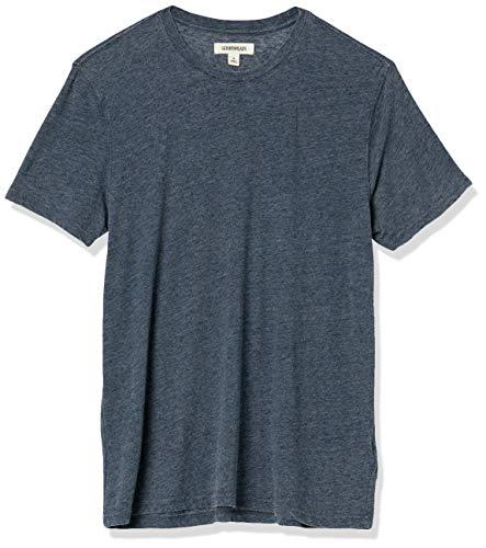 Amazon Brand - Goodthreads Men's Burnout Short-Sleeve Crewneck T-Shirt, Navy, XX-Large
