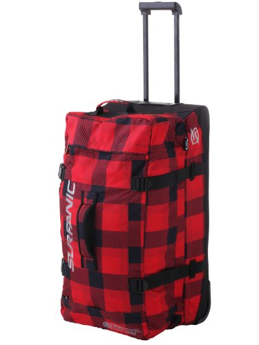 Surfanic Luggage Maxim Roller Bag (Red Check)