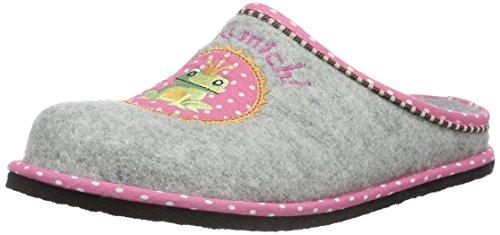 Softwaves Damen Hausschuh Pantoffeln, Grau (200 Grey), 36