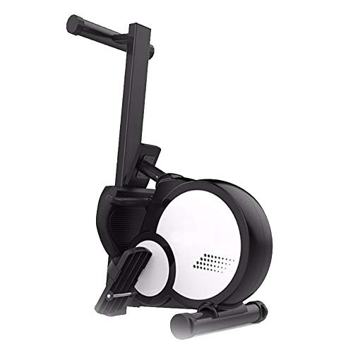 AWJ Indoor-Rudergerät, magnetisch gesteuertes faltbares Rudergerät Mute Fitness Equipment Data Monitoring Display
