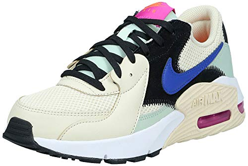 Nike Damen Air Max Excee Laufschuh, Fósil/Hiperazul/Escarcha Pistachio, 38 EU