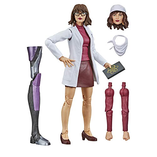 Hasbro Marvel Legends Series X-Men 6-inch Collectible Moira MacTaggert Action Figure Toy, Premium Design and 5 Accessories, Ages 4 and Up