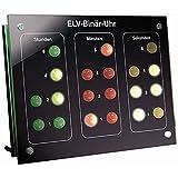 ELV Bausatz Binär-Uhr BU 1, mit Frontplatte (ohne DCF-Modul)