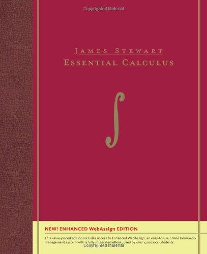 Essential Calculus, Enhanced Edition (with Enhanced...