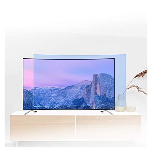 ASPZQ Protector de Pantalla Anti Luz Azul Filtro Antideslumbrante para LCD/LED / 4K OLED Y QLED 32-75 Pulgadas Y Pantalla Curva Reduce La Fatiga Ocular