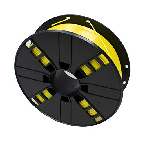 I-CHOOSE LIMITED Filament for 3D Printer Made from Polymer Glossy Silk 1.75mm 1Kg Yellow Colour