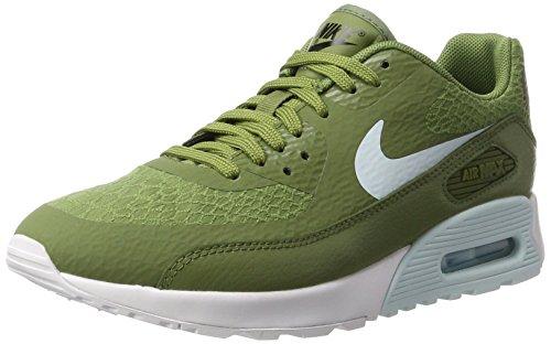Nike Nike Damen WMNS Air Max 90 Ultra 2.0 Sneakers, Grün (Palm Green/Glacier Blue/White/Black), 36.5 EU
