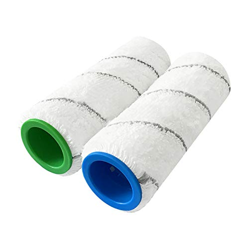 LICHIFIT Cepillo principal de limpieza de rodillos 1 par para limpiador de barredora KARCHER FC3D FC5