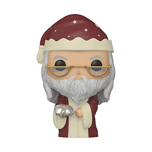 Funko- Pop Harry Potter: Holiday-Albus Dumbledore S11 Figura Coleccionable, Multicolor (51155)