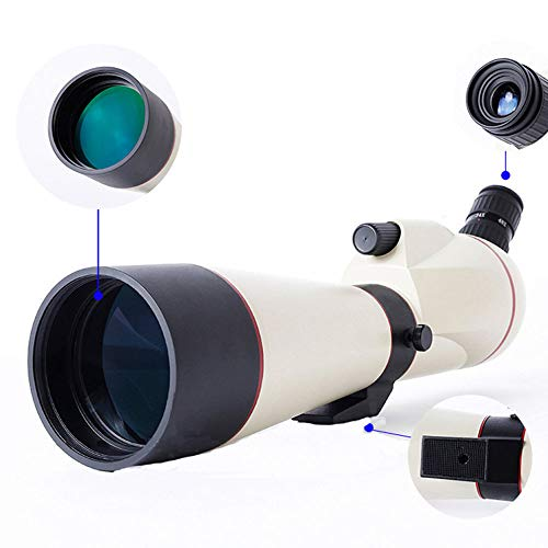 Buy Monoculars Spotting Scope,45-Degree Angled Big Eyepiece Telescopic,Waterproof Fogproof Spott...