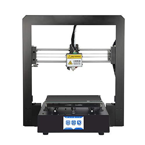Imprimante 3D Bureau de qualité industrielle Accueil Imprimante 3D de haute précision Impression Tout cadre en métal Petit modèle stéréo imprimante Home Office Imprimante à double usage Pratique