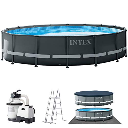 INTEX Kit piscine Ultra XTR ronde 4,88 x 1,22 m