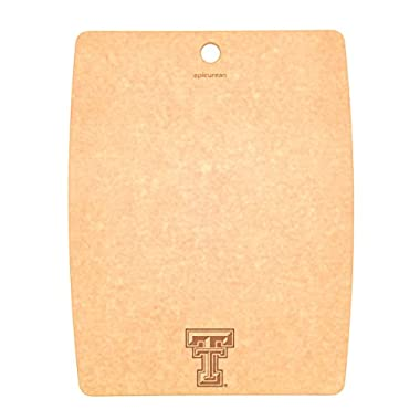 Epicurean Texas Tech University Red Raiders Cutting/Serving Board, 14.5  x 11.25 , Natural
