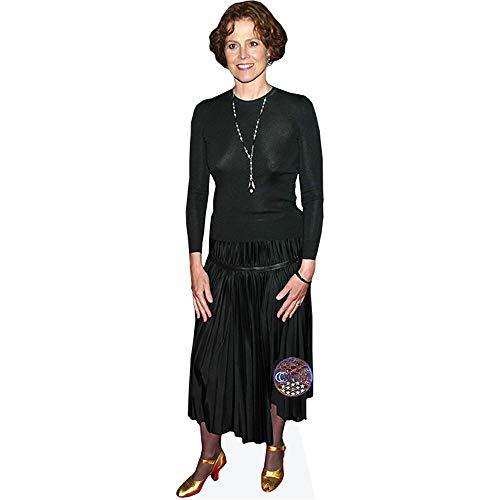 Celebrity Cutouts Sigourney Weaver (Black Dress) Pappaufsteller lebensgross