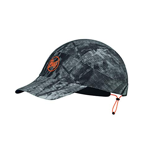 Buff Erwachsene Pack Patterned Run Cap, R-City Grey, XL