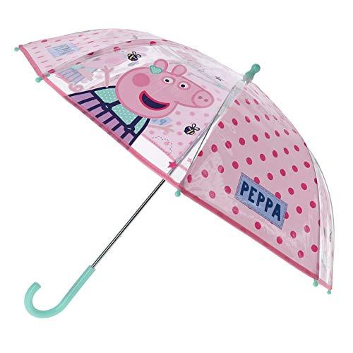 Peppa Pig Paraguas Clásico Peppa | Transparente Niños