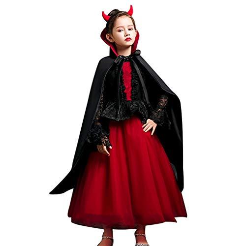Halloween kostuums meisjes heks kostuum halloween kinder kleding halloween kinder jurk halloween kinderen kostuums meisjes heks prinses jurk klein meisje vampier cosplay Co