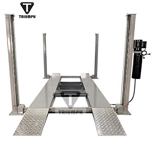 TRIUMPH NSS-8SQ Classic Lift Shorter 8000lbs 4 Post Storage Service Car Auto Lift Truck Hoist