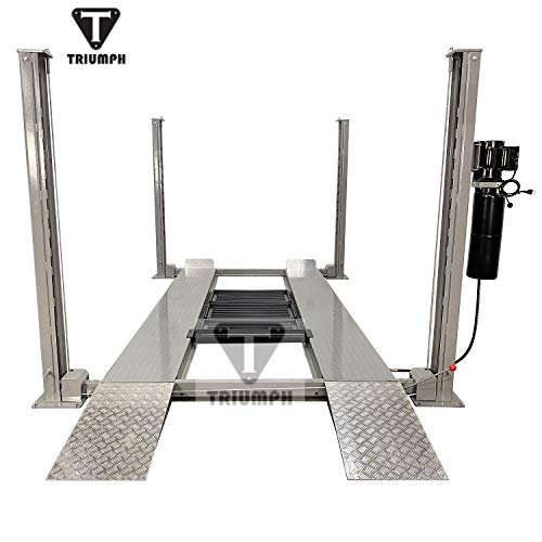 TRIUMPH NSS-8SQ Classic Lift Shorter 8000lbs 4 Post Storage Service Car...