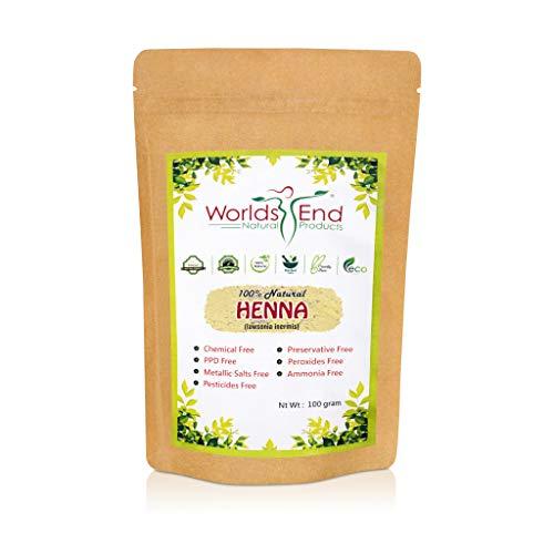 100% Pure & Chemical Free Henna Powder for Hair Dye - Natural and Organic LAWSONIA INERMIS For Natural Hair Colour