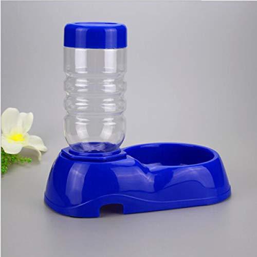 NIUPAN 350ml Alimentador automático de Agua para Mascotas Alimentador de plástico Plato de Comida para Perros Dispensador de Agua para Perro Gato Bebedero para Perros