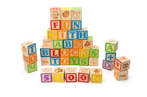 vintage alphabet blocks - 7
