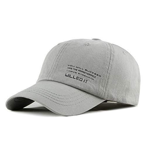Ning Night Gorra de béisbol de algodón Ajustable Bordada, Sombrero de algodón Padre Sombrero Unisex Negro,3