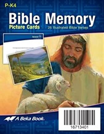 Miniature Bible Memory Picture Cards Abeka Books