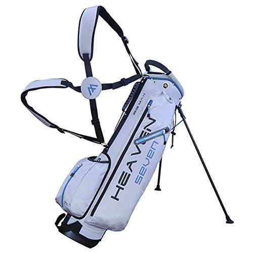Big Max Heaven 7 Golf Standbag - Ultraleicht - 2019 Silber