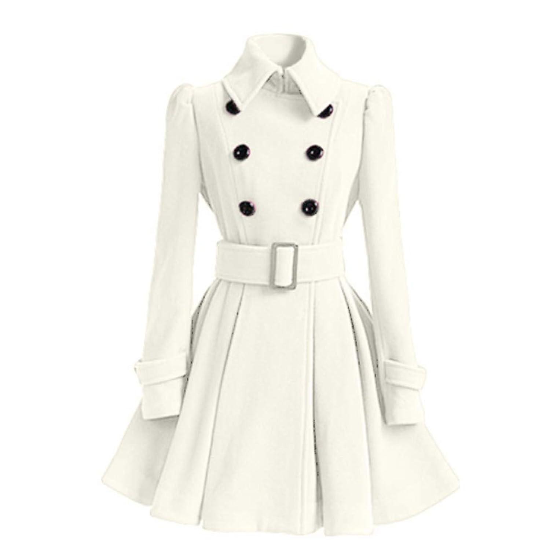 女性のドレス、暖かく快適、冬のドレス,White,S