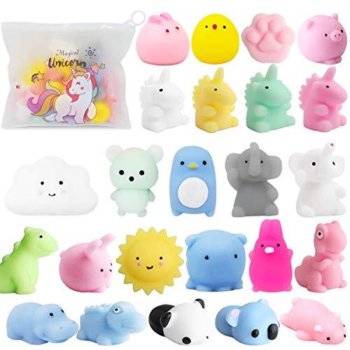 A Squishy 25 Squishy Toys
