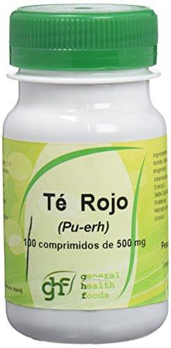 Ghf, Té Rojo 100 Comprimidos 500Mg