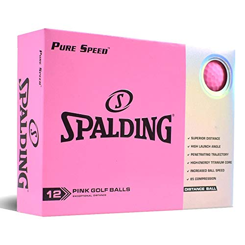 Spalding Pure Speed 12 Ball Pack - Pink
