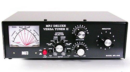 MFJ 948 300 watts, Spitzenleistung Lesen HF Antenne Stimmgerät für Hobbyfotografen radio verwendet werden